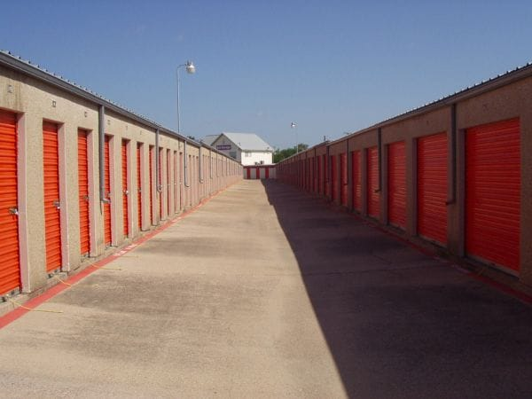 Picture of outdoor storage unit doors