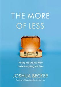 The More of Less by Joshua Becker cover photo