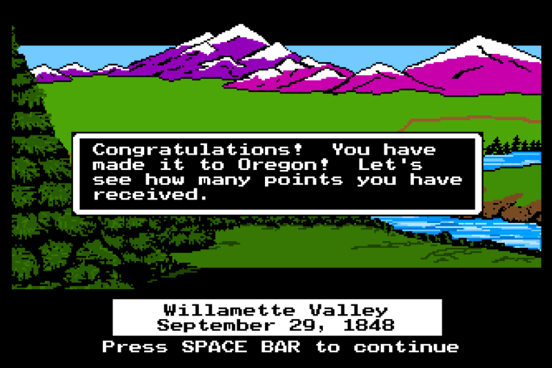 Money and Life Lessons from The Oregon Trail