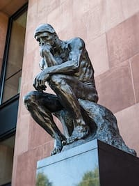 Sculpture - The Thinker
