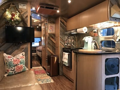 Airstream interior